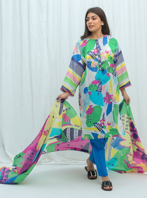 Beechtree 2 Piece Custom Stitched Suit - Blue - LB17225