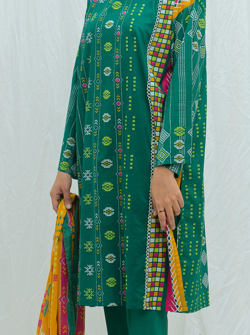 Beechtree 2 Piece Custom Stitched Suit - Green - LB17228