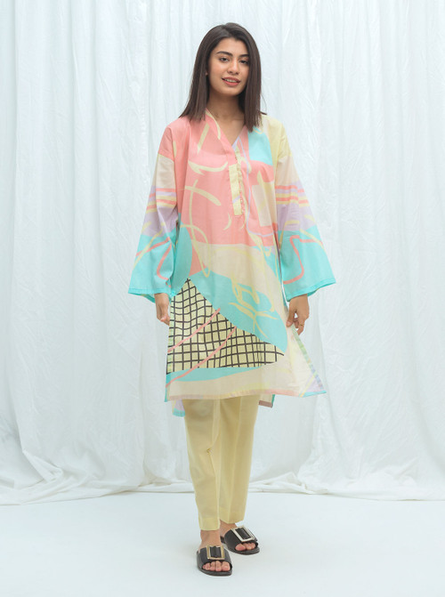 Beechtree 2 Piece Custom Stitched Suit - Off-White - LB17234
