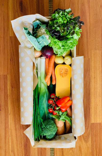 The Deluxe Veggie Box (Vegetables Only - $95)