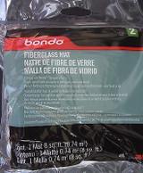 "3M Bondo 488 Fiberglass Mat 31"" x 38"" 8 ft sq (0.74 m sq) for Fiberglass Resin"