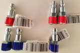 "Air Tool Couplers Pneumatic Tool ¼"" Steel Couplers Industrial (I/M) and Automotive (T) Set 6 Male & Female"