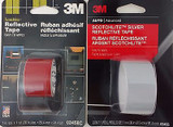 """3M Scotchlite Reflective Tapes 1"""" X 36"""" (2.54cm X 91.4cm) Select: Red Or Silver"""