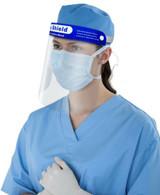Full Face Shield Clear Flip Up Visor Medical Dental