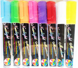 Car Window LED Board Markers Washable Fluorescent Neon 4mm Tip 1 Marker/Pk, Select: Color
