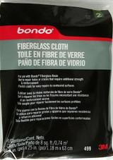 "3M Bondo 499 Fiberglass Cloth 31"" x 38"" 8 ft sq (0.74 m sq) for Fiberglass Resin"
