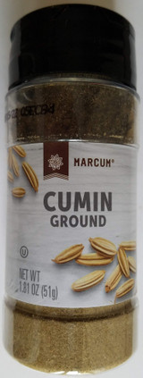 Culinary Ground Cumin Seasoning 1.81 oz (51g) Flip-Top Shaker