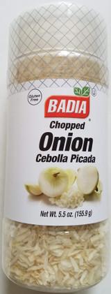 Chopped Onion Seasoning 5.5 oz (156 g) Screw-Top Shaker Bottle
