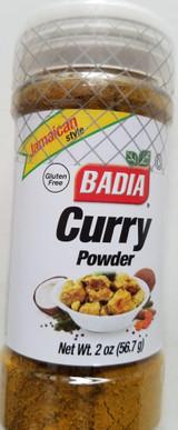 Badia Culinary Spices Curry Powder 2 oz (56.7g) Screw-Top Shaker