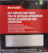 "3M Bondo 932 Self Adhesive Patch Metal Mesh 2 Patches 5.9""x5.8"""