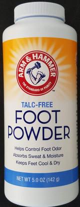 Arm & Hammer Foot Powder Cornstarch Talc-Free Absorbs Wetness 5 Oz