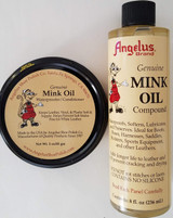 Genuine Mink Oil Leather Conditioner Waterproofer Paste &/or Liquid, Select: Items