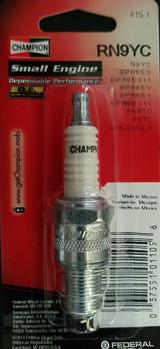 Champion Spark Plug RN9YC #415-1 Replaces N9YC BPR6ES BPR6ES11 BPR6EV BPR6EY BPR6EY11 F6RTC F6TC 018-3338-0