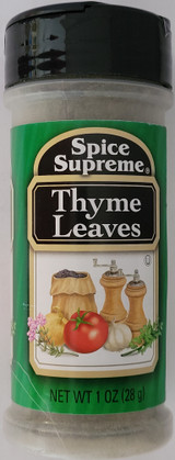 Culinary Thyme Leaves 1 oz (28g) Flip-Top Shaker