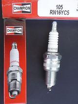 Champion Spark Plug RN16YC5 #105 Replaces: BP4ES13 BPR4ES13 BP5EA13 BPR4EY GR45