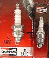 Champion Spark Plug RJ12YC #14 Replaces: OJ11Y RJ10Y RJ11Y RJ12Y RJ87P XJ10Y