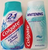 Colgate Toothpastes: Whitening Crystal Mint and Icy Blast Whitening 4.6 oz Bottles, Select: Type