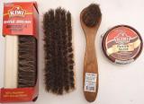 Kiwi Brown Shoe Polish Cream Kiwi Shine Brush & Dauber, Select: Items