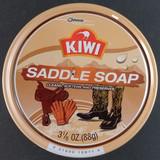 Kiwi Saddle Soap & Leather Care Jumbo 3 1/8 Oz (88g) Cans