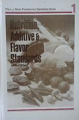 Nutrition, Additive And Flavor Standards Vol. 1, Revised, L.j. Minor, Hardcover