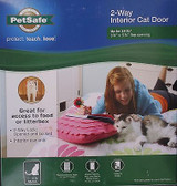 "Petsafe Cat 2-Way Flap Cat Door Cats Up To 15 Lb, 5.8"" X 5.8"""