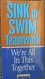 Sink or Swim Teamwork: We're All in This Together, 2004, VHS cassette