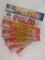 6 Boxes containing 5 Sparklers/Box = Total 30 Sparklers