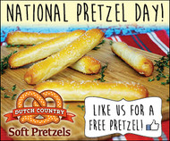 National Pretzel Day!