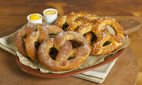 Traditional Soft Pretzels