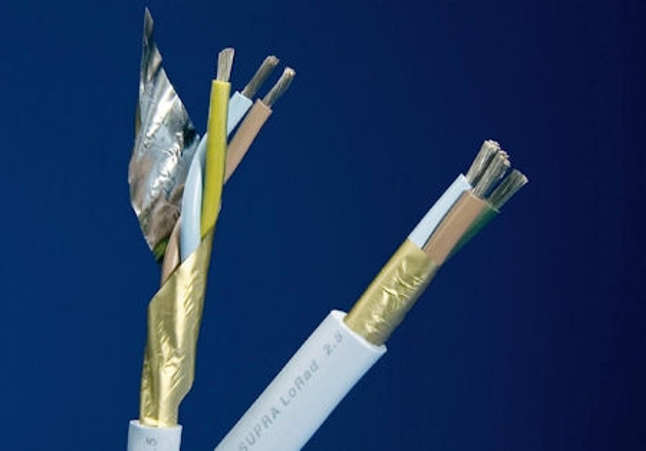 Supra LoRad Sheilded Mains Cable