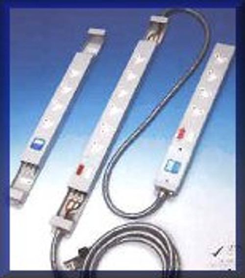 Metal Clad Mains Distribution Block - 6 Way
