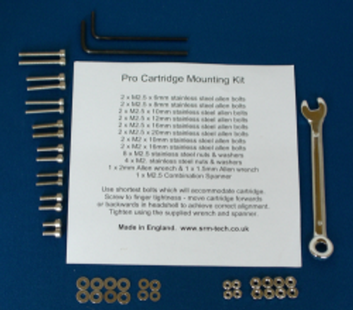 SRM Tech - Pro Cartridge Mounting Kit