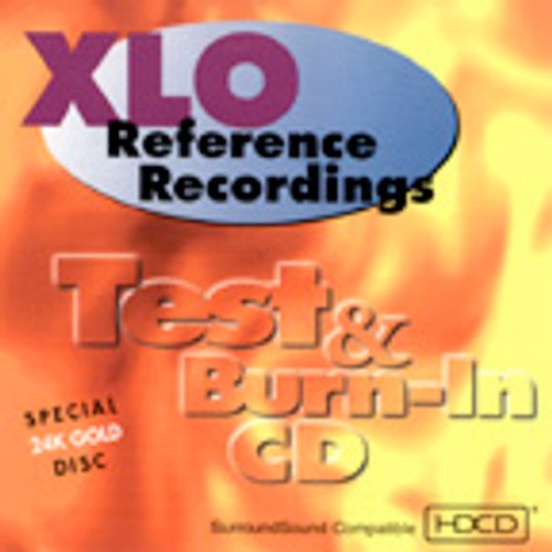 XLO / Reference Recordings 24K Gold Test and Burn in CD
