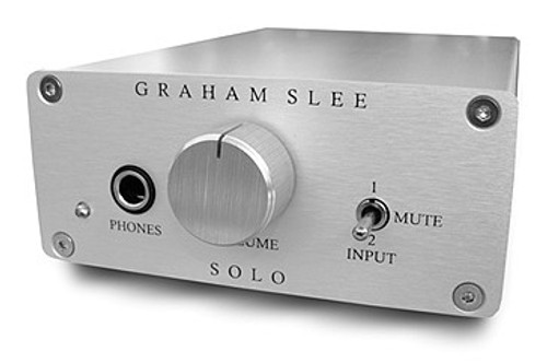 Graham Slee - Solo SRG11 Headphone Amplifier Green PSU