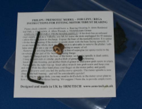 SRM Tech Turntable Motor Thrust Bearing
