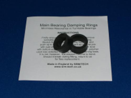 SRM Tech Main Bearing Damping Rings