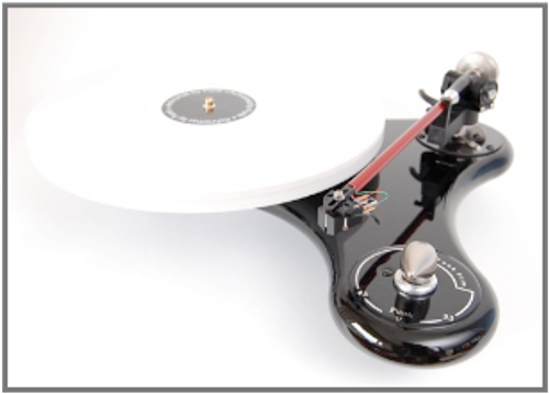Funk Vector V Turntable - Antracite/White/Black