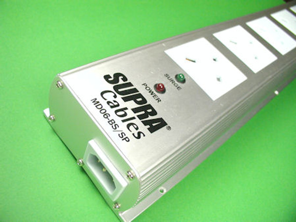 Supra Mains Distribution Block MD06-BS/SP with Supplied with 1x 1.0m LoRad 1.5 CS-BS cable set
