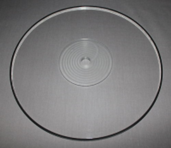SRM Tech Acrylic Platter for Systemdek