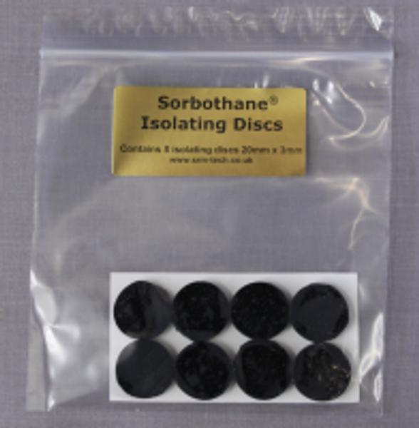 SRM Tech 8 x Sorbothane Isolating Discs