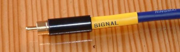 Ringmat Pure Signal Blue Digital Interconnect - 0.5M Terminated with Ringmat RCA Plugs
