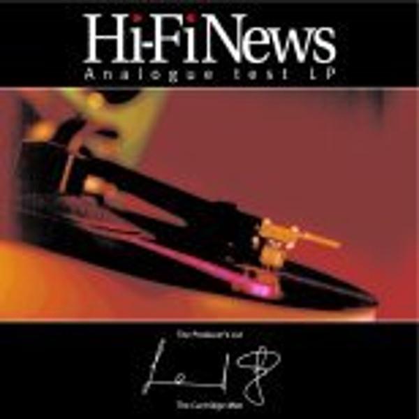 Hi Fi News Test LP + Shure SFG-2 Stylus Gauge