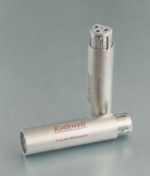 Rothwell XLR Balanced In-Line Attenuators (-10dB)