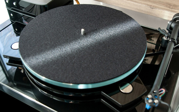 SRM TECH Azure - Superb DIY Turntable Using Rega Parts - Black Model
