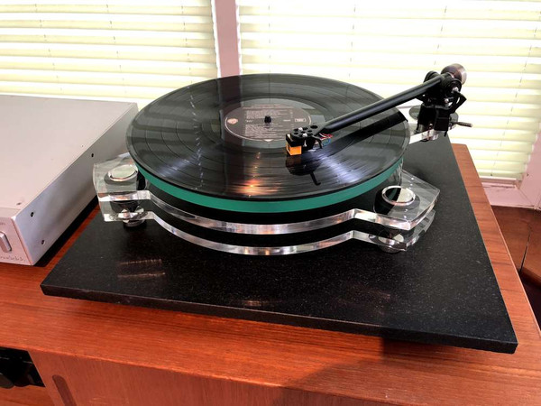 SRM TECH Azure - Superb DIY Turntable Using Rega Parts - Clear Model
