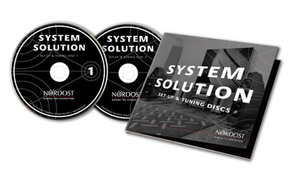 NEW NORDOST SYSTEM SOLUTION — SET-UP & TUNING DISCS