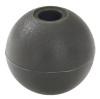 "Brown 1"" Nylon Beaded Retainer Ring Balls"
