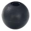 """Black 1"""" Nylon Beaded Retainer Ring Balls"""