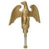 """11"""" Gold Landed Eagle on Ball Ornament EAG-0200-GDT"""
