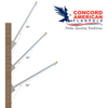 Outrigger Flagpoles from Concord American
